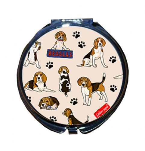 Selina-Jayne Beagles Limited Edition Designer Compact Mirror